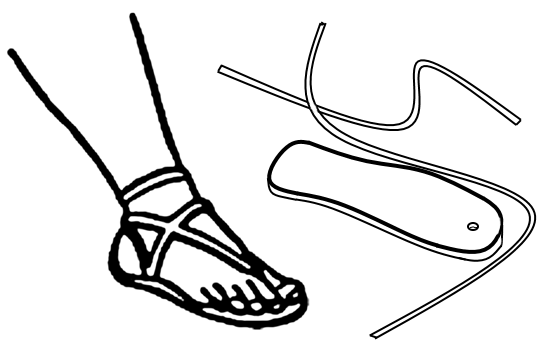 Untied Sandal